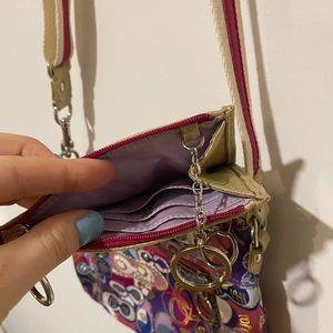 Coach Bags - COACH Poppy crossbody + matching key wallet ✨